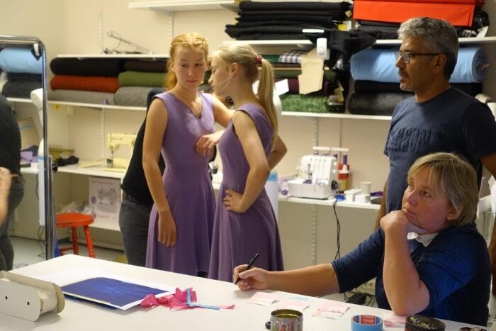 dansere prøver kjoler